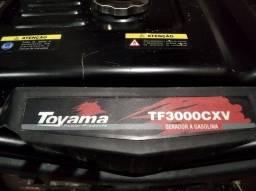 Gerador Toyama TF3000cxv a gasolina 4t.