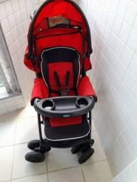 Título do anúncio: Carrinho de Bebe Chicco 3 em 1 (com bebê conforto)