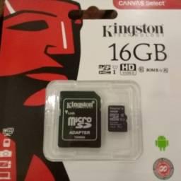 Cartão de memória micro SD 16gb classe 10 Novos