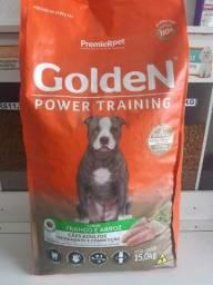 ração golden power training 15kg p/cão adulto