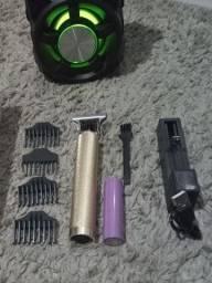 Título do anúncio: Máquina de cabelo barba depilação íntima