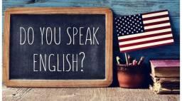 Aulas de inglês com professor americano nativo.