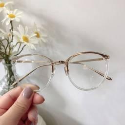 Título do anúncio: Óculos armação redonda feminino