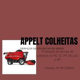 Título do anúncio: Prestação de serviço de colheita de grãos