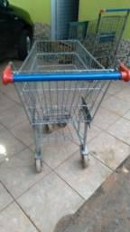 Vende - se carrinho de supermercado