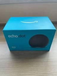 Título do anúncio: Echo Dot (4ª Geração): Smart Speaker com Alexa - Cor Preta
