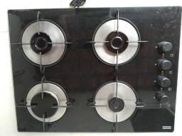 Fogão kooktop 4 bocas