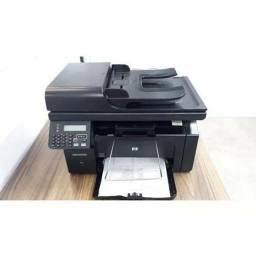 Título do anúncio: Impressora laser multifuncional Hp m1212 Rede Adf