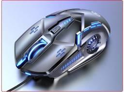 Mouse gamer com 4 modos de dpi e led