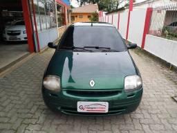 Título do anúncio: Renault Clio Hatch 2001 RN 1.0 Ar Condicionado Estudo Troca e Financio