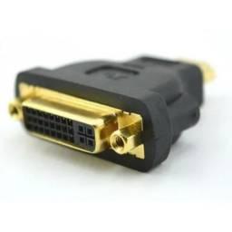 Adaptador HDMI macho para DVI fêmea