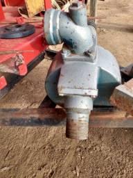Bomba troco em motor com triturador de milho