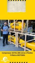 Título do anúncio: Compressor Motomil (PRODUTO NOVO)