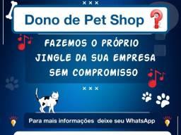 Título do anúncio: Marketing  Musical para Pets Shop