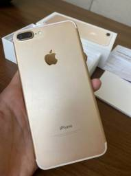 Iphone 7 Plus Gold - Perfeito Estado