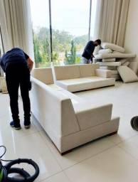 Título do anúncio: Higienização de qualidade para seu sofá e poltronas