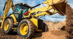 Terraplanagem, demolição e escavação
