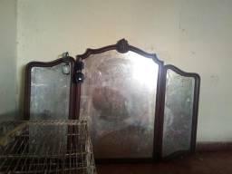 Troco espelho antigo por cama box