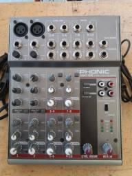 Mesa de som Phonic AM 105