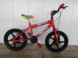 Bicicleta aro 16 reformada menino
