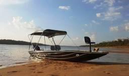Barco (canoa) calaça flashbass 5.5 borda fllutuante completo o mais moderno do brasil! - 2018