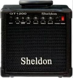 Cubo 15w Caixa Amplificador De Guitarra Sheldon Oferta!
