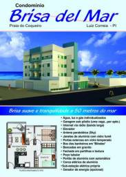 Apto de 2 quartos mobiliado na praia do Coqueiro em Luis Correia-PI