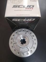 Cubo roda dianteiro titan 125.08 bros. freio disco. scud