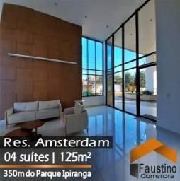 Lindo apartamento com 04 suítes no Residencial Amsterdam, Jundiaí