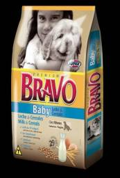Ração Bravo Baby Cães Filhotes Leite E Cereais 15kg- Oferta Imperdível !!!