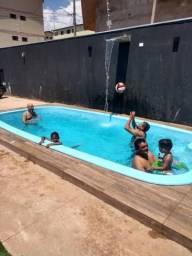Espaço top com piscina para festas FAMILIAR
