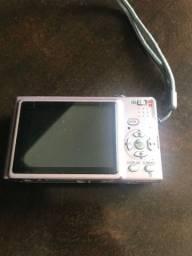 Máquina fotográfica digital panasonic rosa