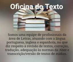 Revisão e correção textual
