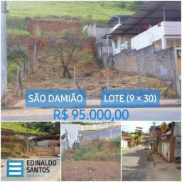 São Damião* - Lote 270 m² - R$ 95.000,00!!! Imperdível!!! ref 643