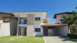 Casa no Eusébio com 264 m², 4 Suítes, 4 Vagas, condomínio com Lazer Completo. Lindo