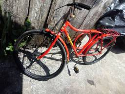 Bicicleta barra forte monark.