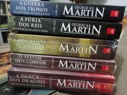 Games of Thrones - Crônicas de Gelo e Fogo - George Martin
