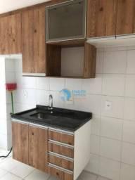 Apartamento com 2 dormitórios para alugar, 49 m² por R$ 1.500/mês - Panorama (Polvilho) -