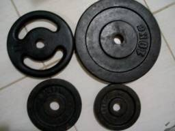 Pesos 4 peças