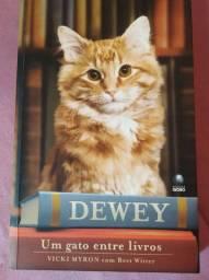 Livro Dewey- um gato entre livros
