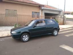 Volkswagen Gol 1.6 Verde 1997 Ótimo Estado