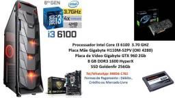 PC Gamer Intel Core I3 6100 8Gb GTX 960 2Gb