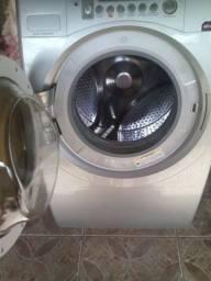 Lavadora/Secadora de Roupas Brastemp 7 kg Ative! Lava & Seca BWS24AS - Prata<br><br>