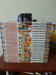 Coleção mangá de Naruto (número 11 ao 70)