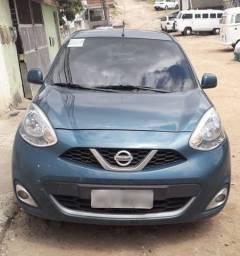 Nissan March 1.0 Ano 2014 Modelo 2015 (Passo financiamento)