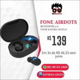 Fone Airdots bluetoothe 5.0 (sem juros nos cartões)