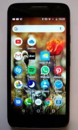 Motorola Moto G4 Play Preto / Perfeito + Película De Vidro