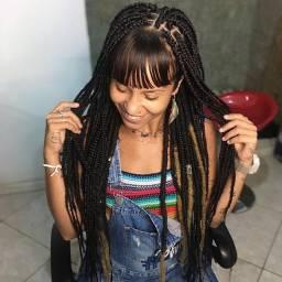 ? limpeza,simetria e um bom resultado box braids