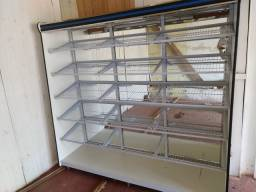 Expositor para produtos de padaria