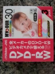 Mini DVD para filmadora novos lacrados